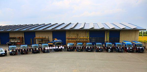 Unser Team und die Fahrzeugflotte