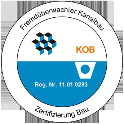 Fremdüberwachter Kanalbau - Zertifizierung Blau