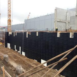 Blockade vor Baustelle